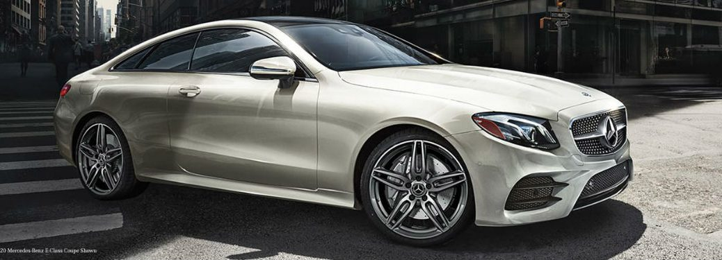 2021 Mercedes-Benz E-Class Coupe in white