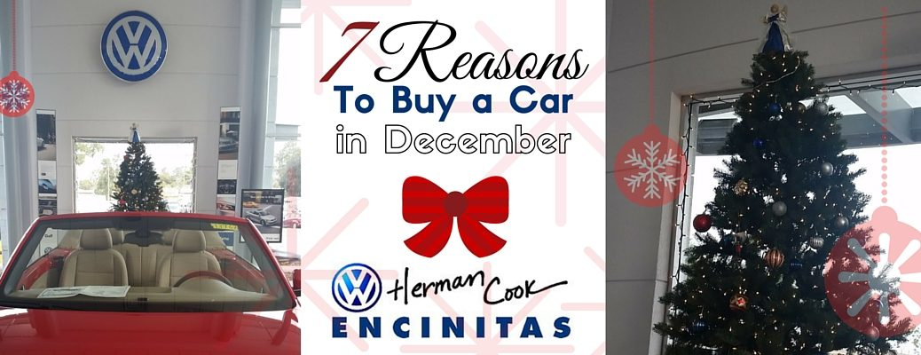 7 Reasons to Buy a Car in December (1)