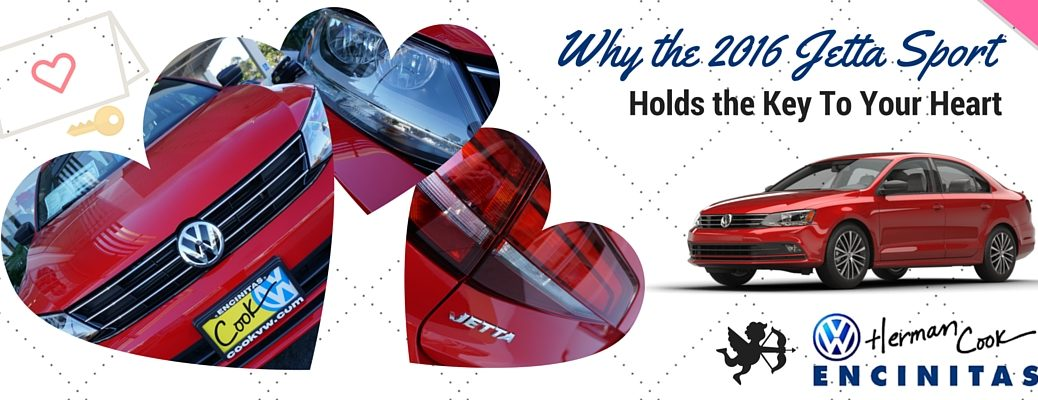 Why 2016 Jetta Sport holds the key to your heart