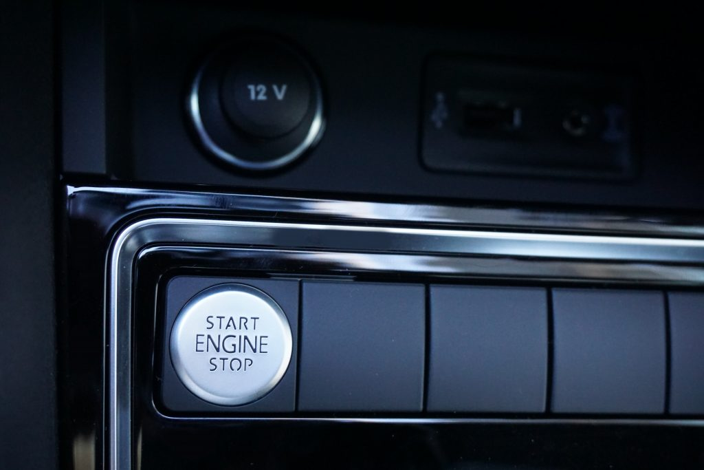 2016 Jetta Sport Push-button Start