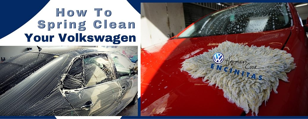 How To Spring Clean Your Volkswagen