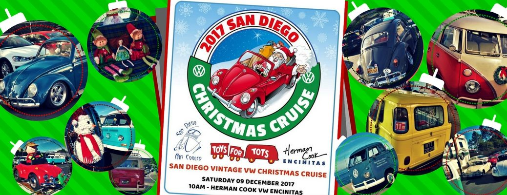 December-2017-San-Diego-Air-Cooled-Vintage-VW-Christmas-Cruise