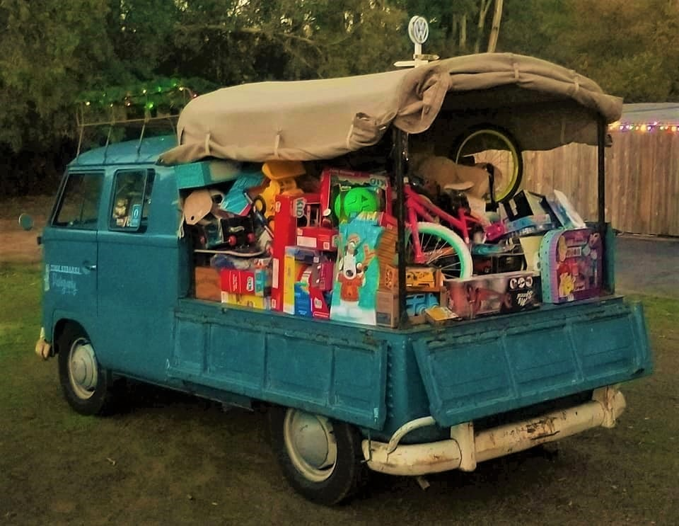 VW Christmas Cruise Toys for Tots