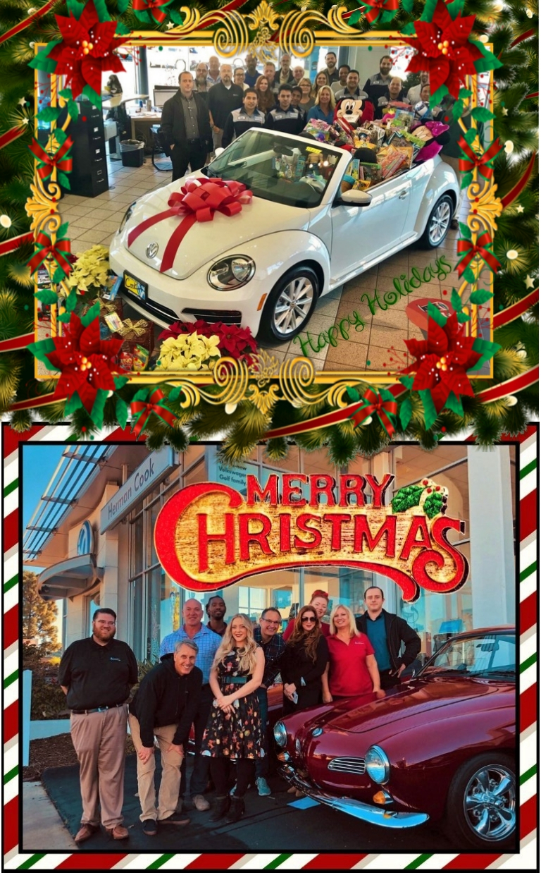 Merry Christmas from Herman Cook VW!