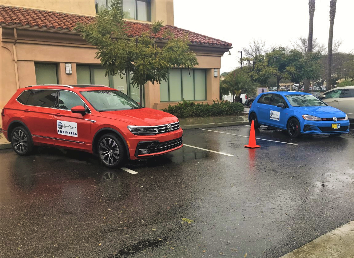 Cardiff Kook Run - 2019 Volkswagen Tiguan SEL R-Line and 2019 GTI Rabbit Edition