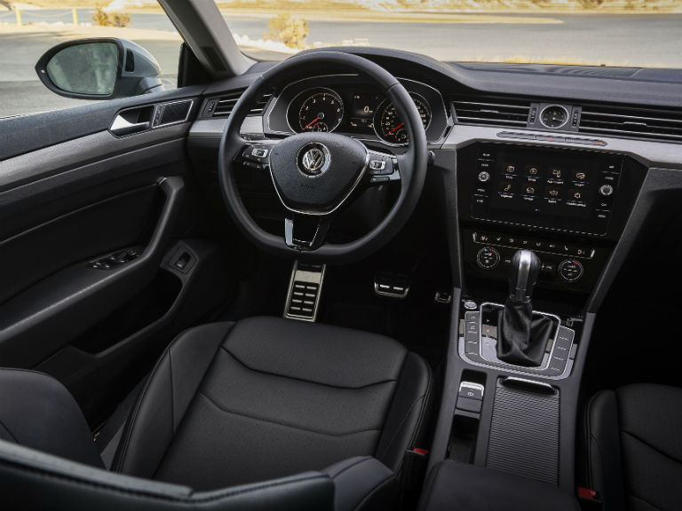 front-interior-of-a-2019-VW-Arteon