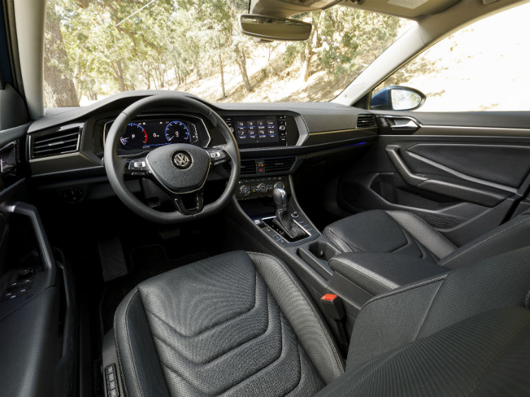 front interior of a 2019 VW Jetta
