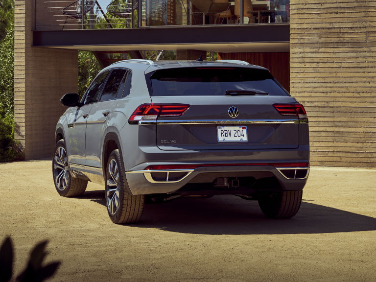 rear view of a 2020 VW Atlas Cross Sport