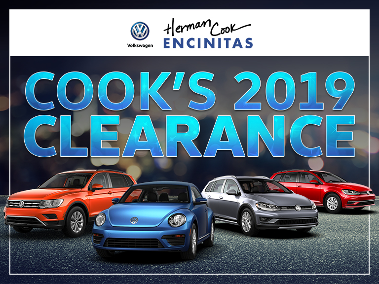 Cook's 2019 clearance poster