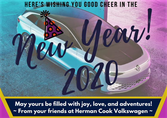 Happy New Year 2020 from Herman Cook VW!