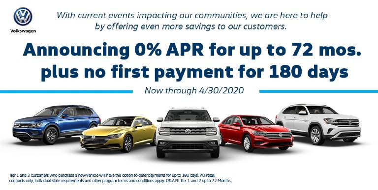 The Volkswagen Community-Driven Promise Offers Herman Cook VW Customers Deferred and Flexible Payment Options