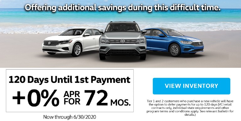 The Volkswagen Community-Driven Promise Extended Through June 30, Offers Herman Cook VW Customers Deferred and Flexible Payment Options