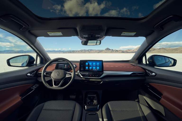 front interior of a 2021 VW ID4