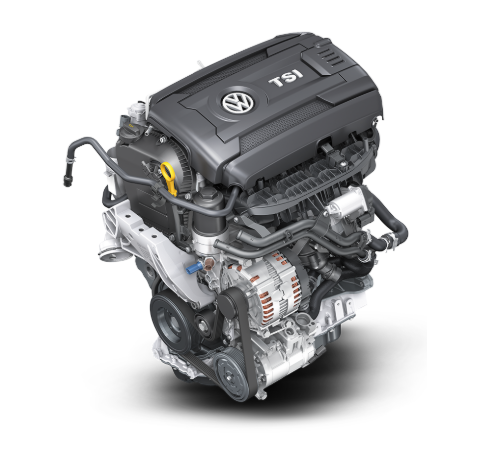 Turbocharged four-cylinder engine for the 2019 Volkswagen Atlas