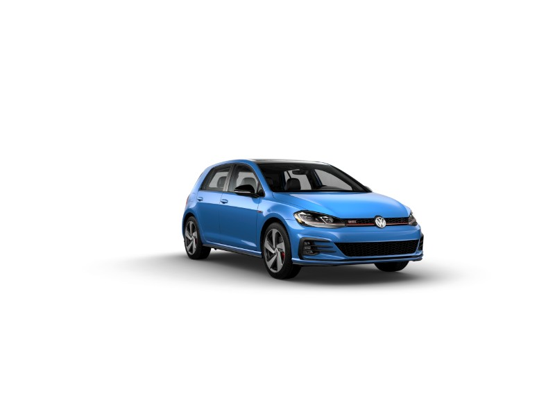 2019 Volkswagen Golf GTI in Cornflower Blue
