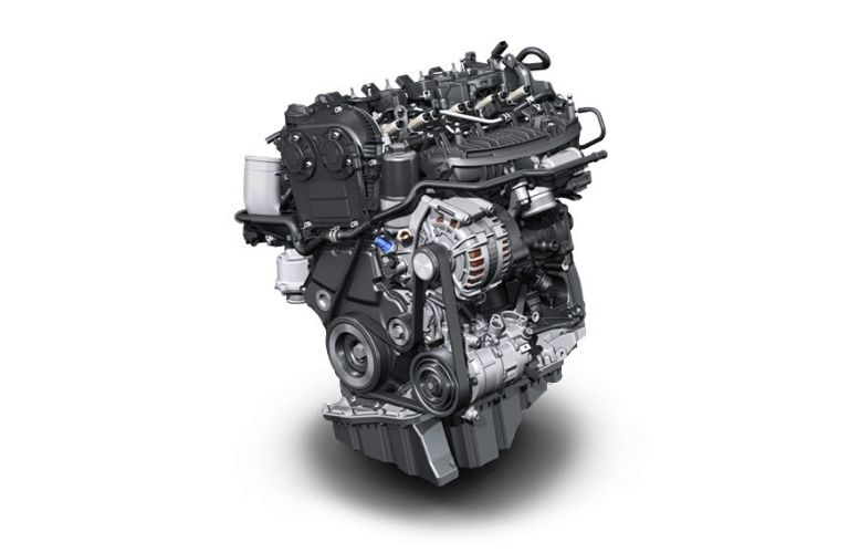 Image of the 2020 Volkswagen Tiguan engine