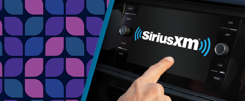 SiriusXM Subscription Special banner with the SiriusXM logo