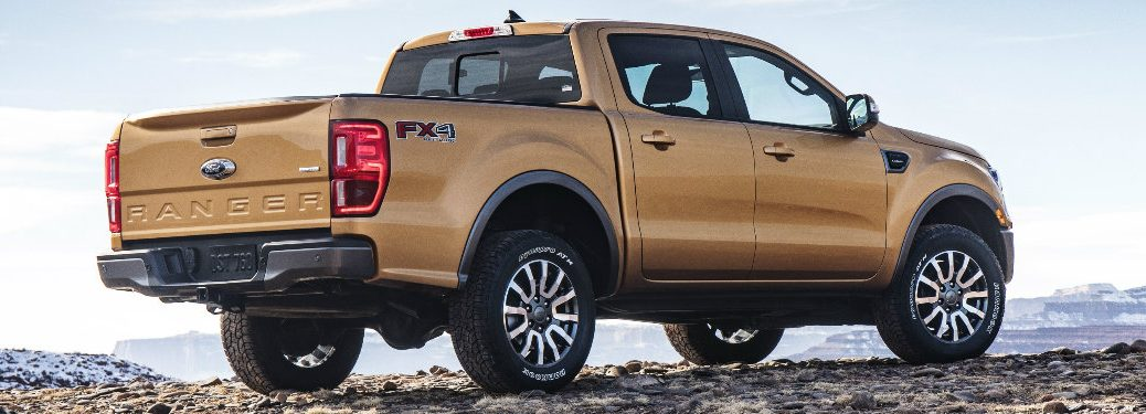 2019 Ford Ranger exterior rear side view