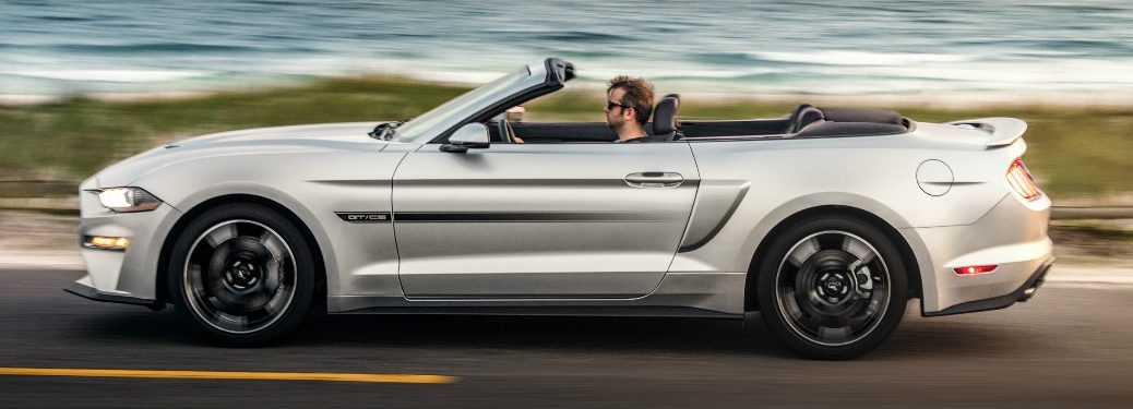 2019 Ford Mustang California Special exterior driver side