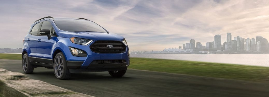2019 Ford EcoSport driving on highway