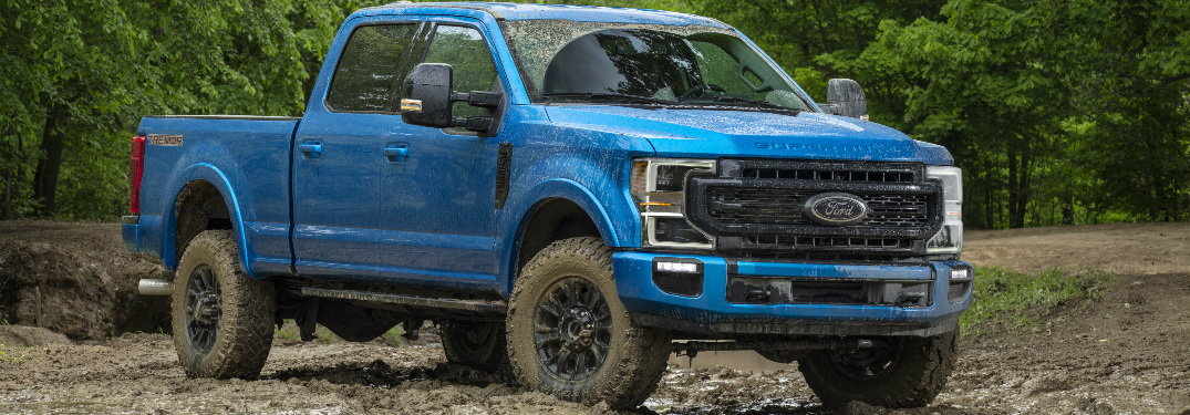 What Features Does The 2020 Ford F Series Super Duty Tremor