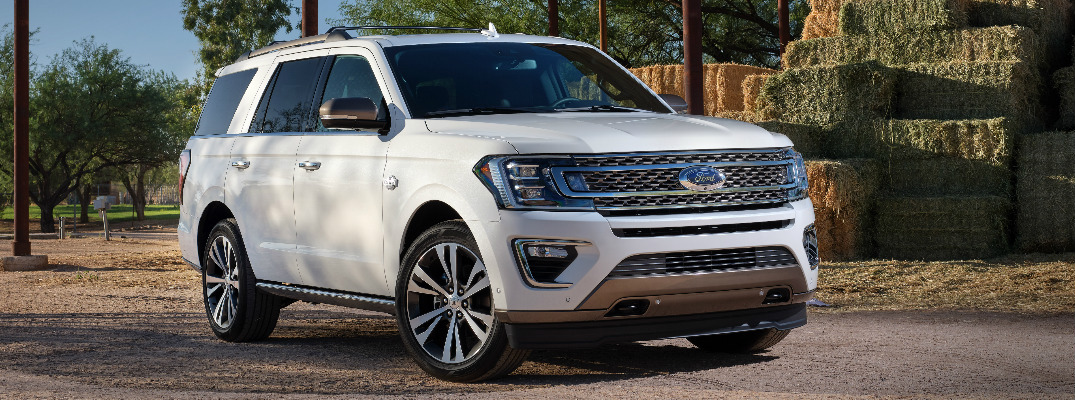 What design features does the 2020 Ford Expedition King Ranch offer?