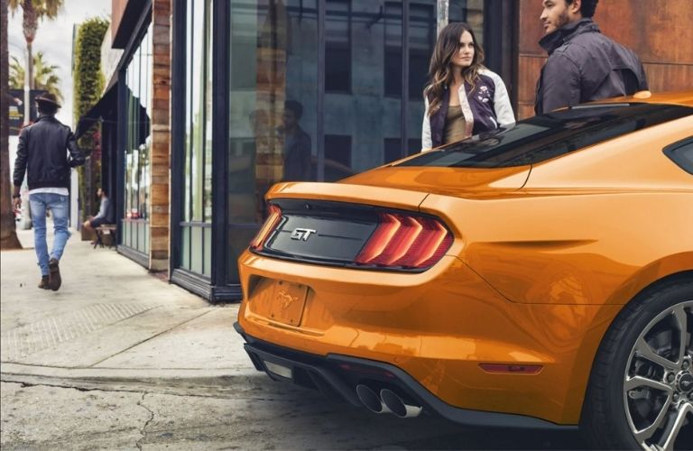 2021 Ford Mustang GT Premium Rear View