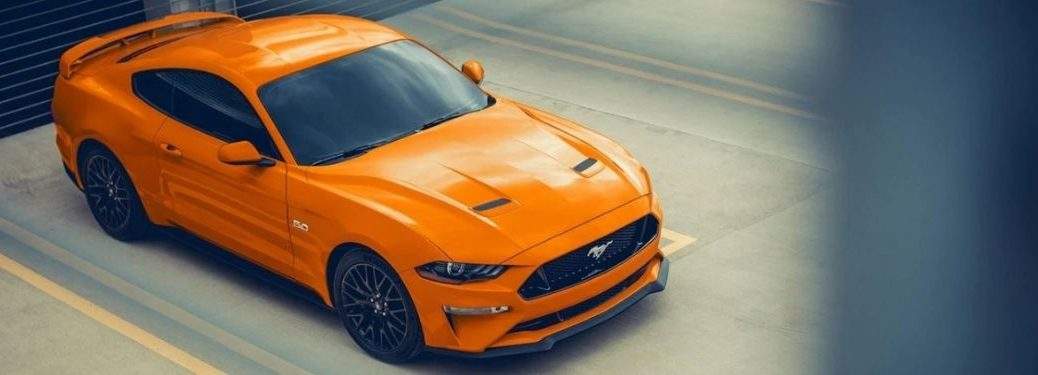 2021 Ford Mustang GT Premium Top View