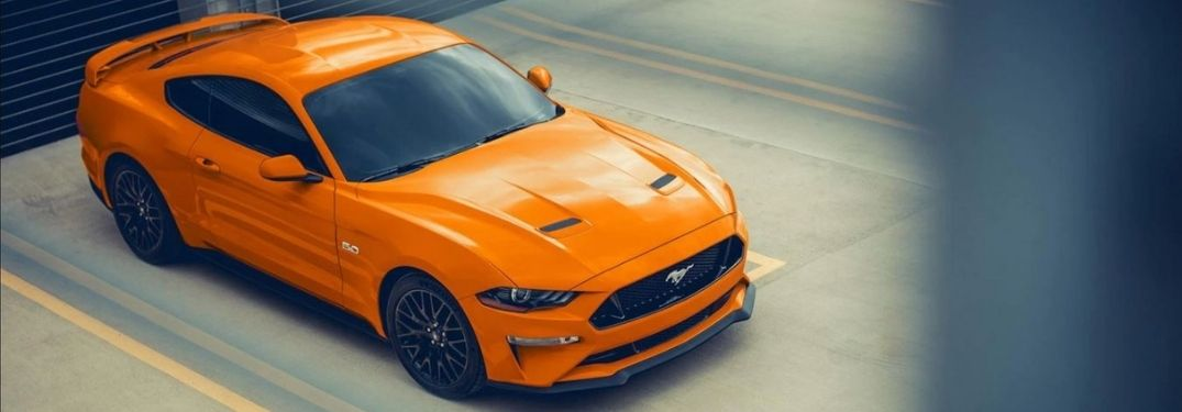 What are the key specs and options of the 2021 Ford Mustang GT Premium?