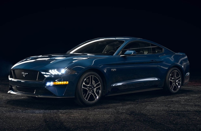 2021 Ford Mustang AntiMatter Blue
