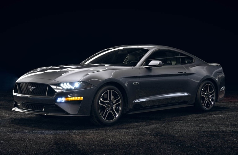 2021 Ford Mustang Carbonized Gray