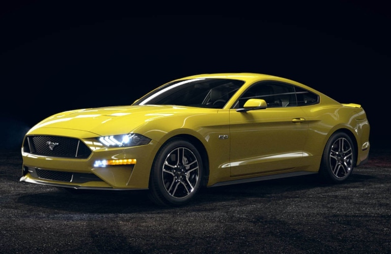 2021 Ford Mustang Grabber Yellow