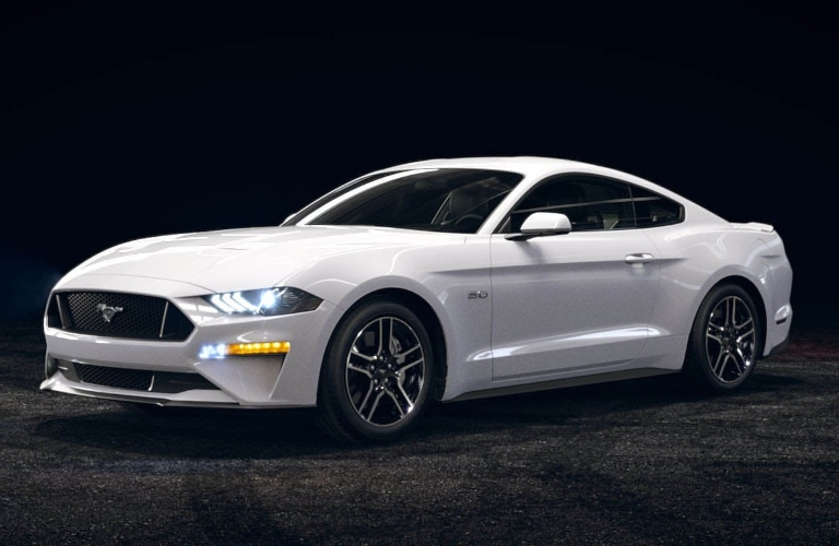2021 Ford Mustang Oxford White