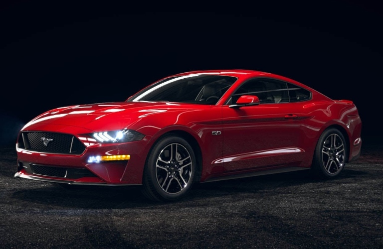 2021 Ford Mustang Race Red