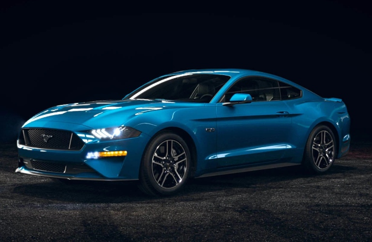 2021 Ford Mustang Velocity Blue