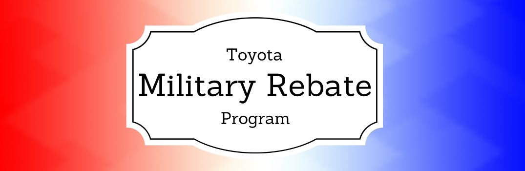 Does Toyota Offer A Military Discount?