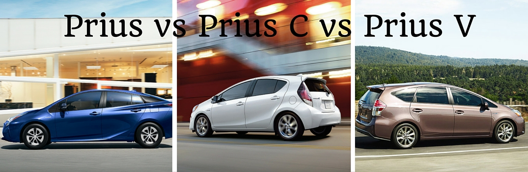 Prius Vs Prius C >> What Is The Difference Between The Prius Prius C And Prius V