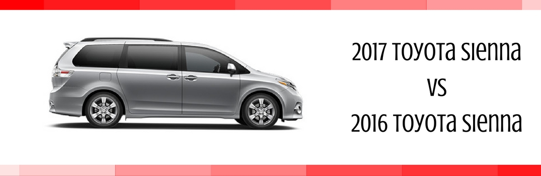 What's New on the 2017 Toyota Sienna?