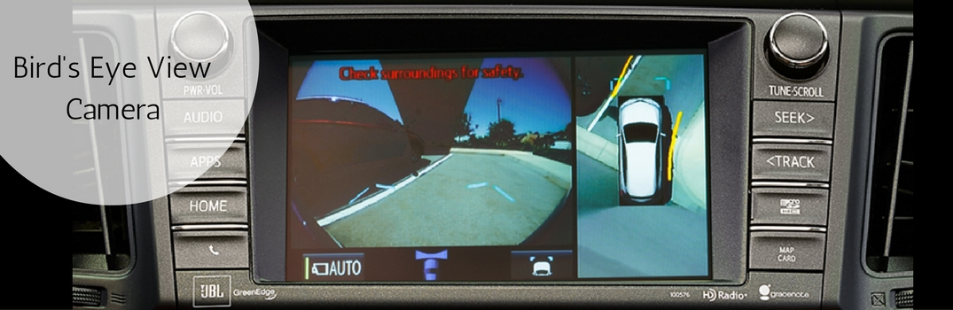 What is Toyota's Bird's Eye View Monitor System?