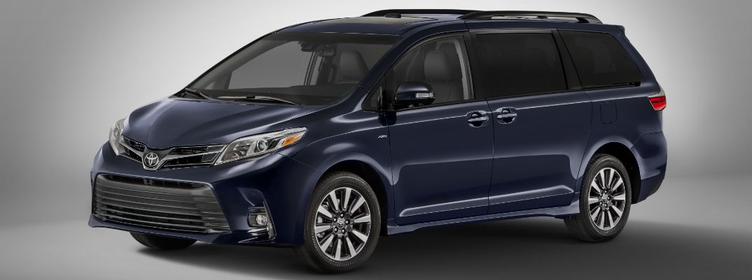 Toyota Announces 2018 Sienna Release Date