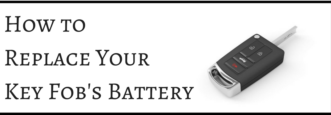 How to Change the Battery in Your Toyota's Key Fob