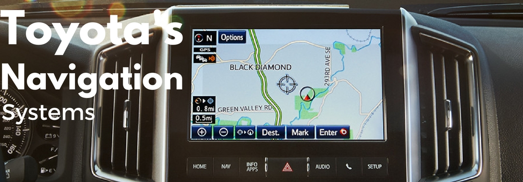 What is Toyota's Integrated Navigation Feature?
