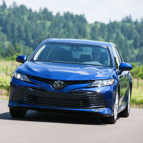 2018 toyota camry grille headlights redesign