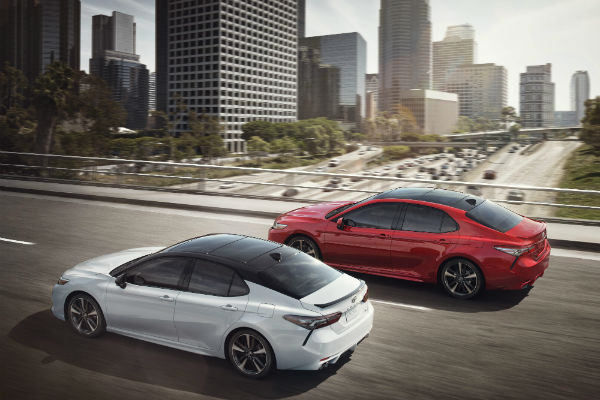 2018 Toyota Camry Exterior Color Options And Interior Fabric