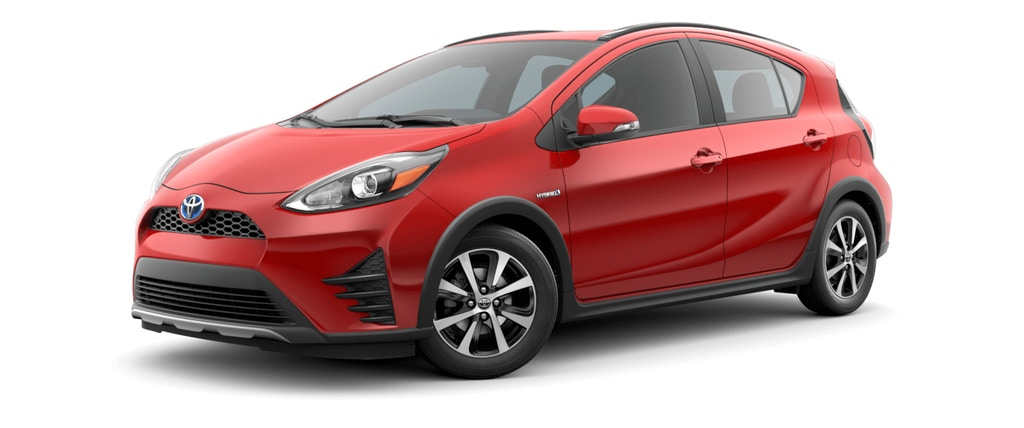 2018 Toyota Prius c Absolutely Red Exterior Color Option_o