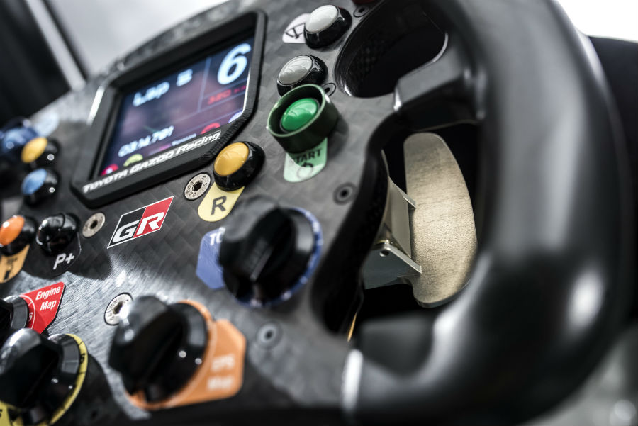 2018 Toyota Supra GR Interior Racing Wheel