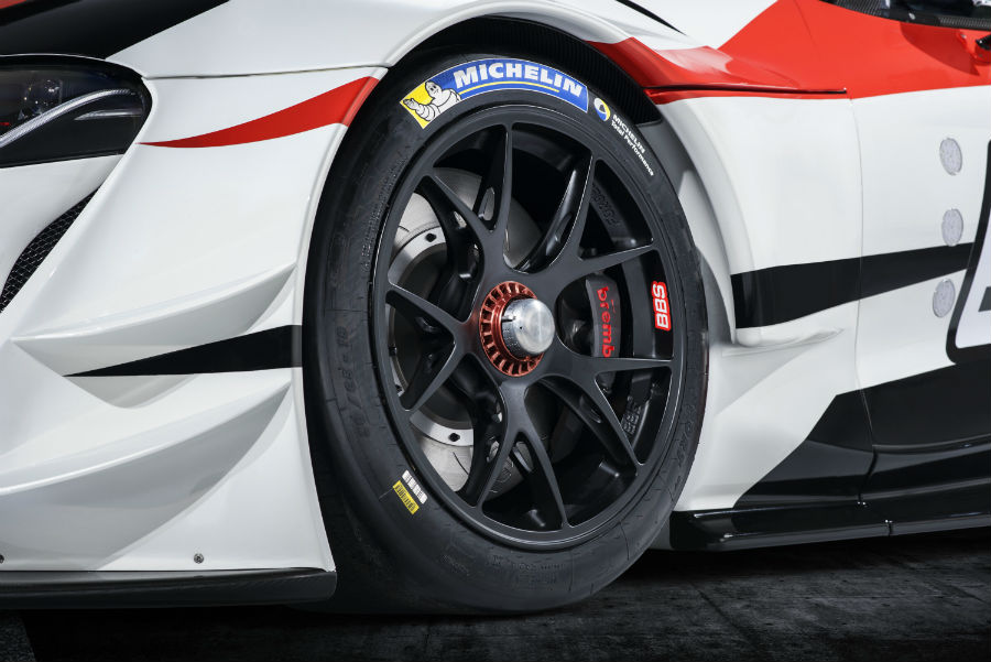2018 Toyota Supra GR Exterior Drivers Side Wheel