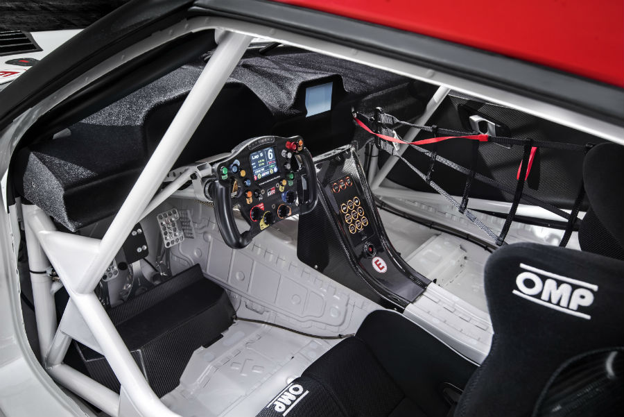 2018 Toyota Supra GR Interior Dash and Drivers Seat