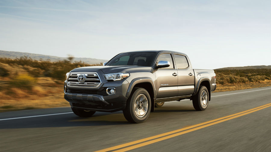 2018 Toyota Tacoma Exterior Driver Side Front Angle