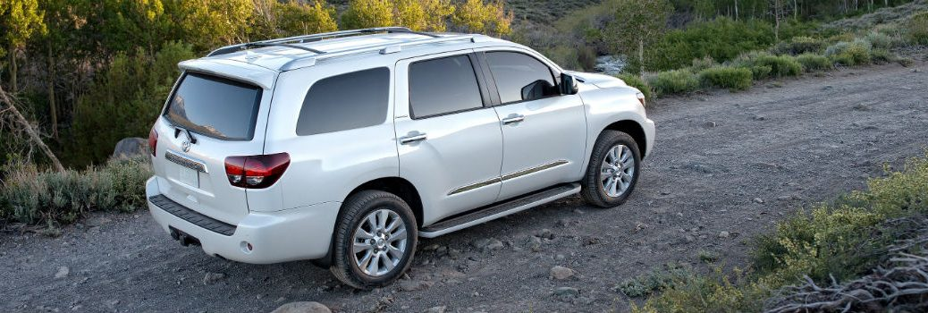 2018 Toyota Sequoia Exterior Passenger Side Rear Profile